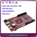 Калер ПРИВЕЛО асинхронный видео контроллер карты Z0A 320*1024 пикселей для полноцветный СВЕТОДИОДНЫЙ экран светодиодный дисплей видео-стена