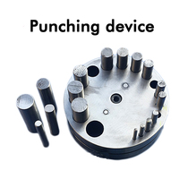 Metal Disc Cutter 17 Hole Circular Punch DIY Jewelry Processing Punch Stamping Tools HJ B80