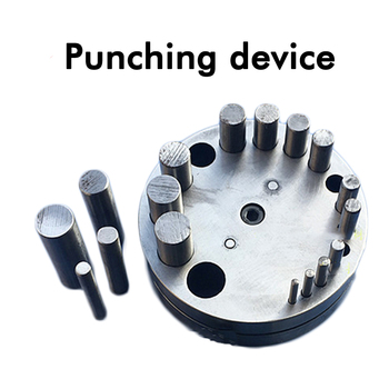 Metal Disc Cutter 17 Hole Circular Punch DIY Jewelry Processing Punch Stamping Tools HJ-B80