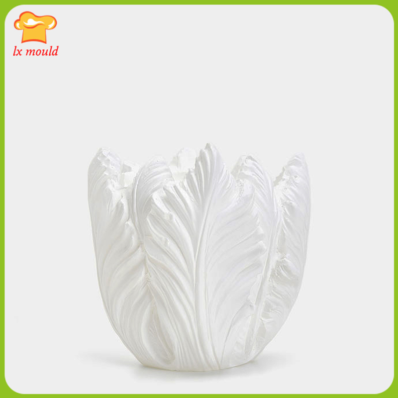2017 new LXYY MOLD flower shaped silicone mold 3D candle silicone mold