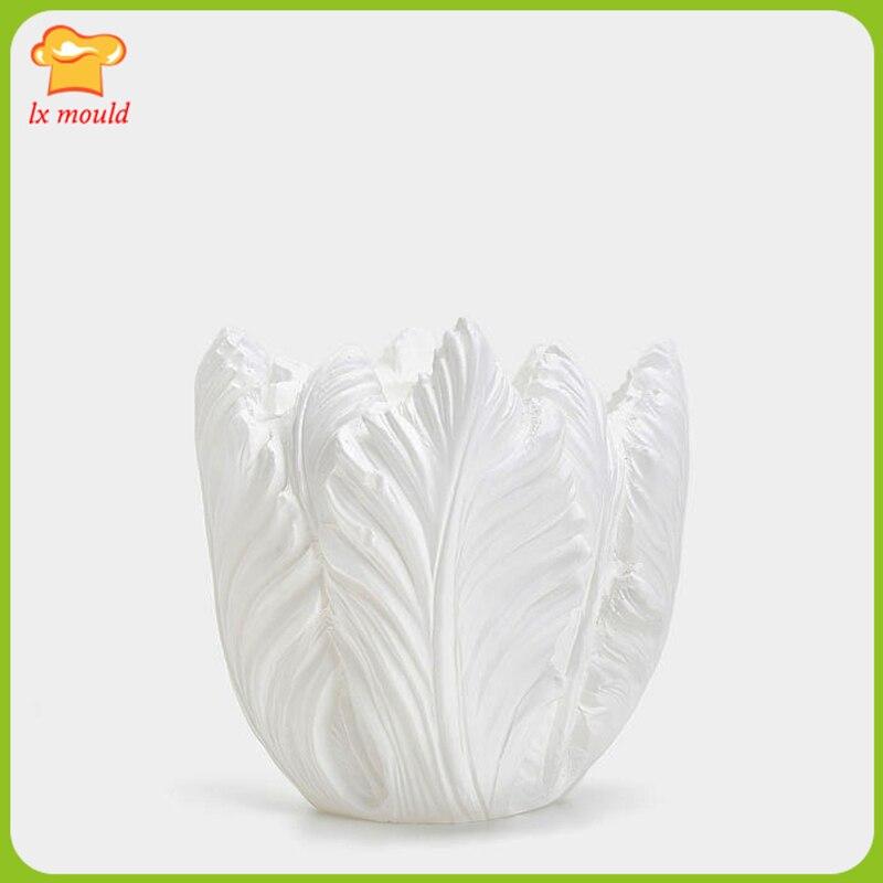 2017 nouveau moule en silicone en forme de fleur moule en silicone 3D bougie moule en silicone-in Moules à gâteau from Maison & Animalerie    1