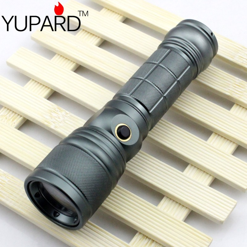 YUPARD XM-L T6 LED Adjustable Flashlight Lamp Light Torch Purple Light Q5 camp Ultraviolet flashlight Amber Scorpion Cosmetics