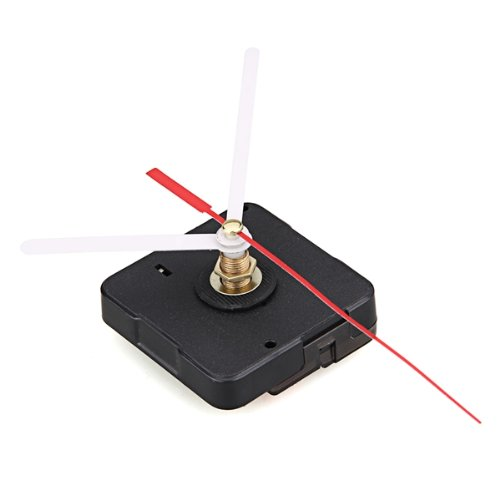 Best selling Clock Movement Mechanism with White Hour Minute Red Second Hand DIY Tools Kit image