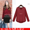 Blusas Time-limited Ropa Mujer Feminino 2015 Autumn Lady Ol Blouse Solid Sleeve Shirts Tops Clothes Plus Size Women Clothing