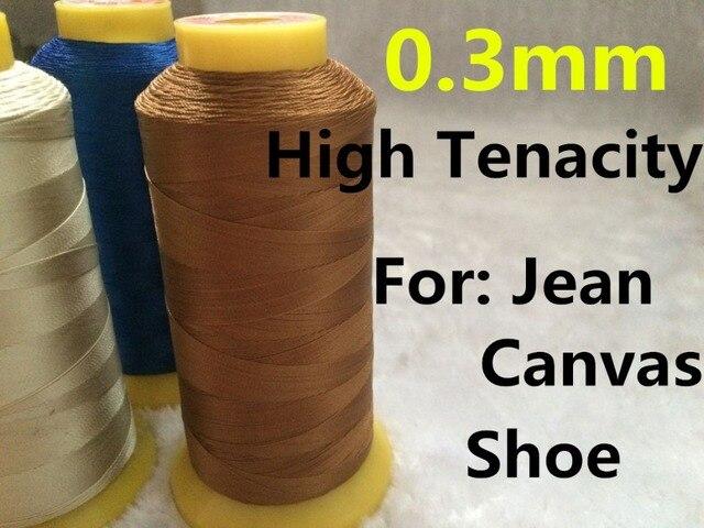 0,3mm 1300 mt Lange Hochfesten Polyester Gewinde für Schuh Jeans ...