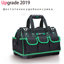 2018 New Tool Bag Oxford Cloth Waterproof Tool Bag Electrician Portable Multi Function Work Bag Utility Bag Tool Organizer стоимость