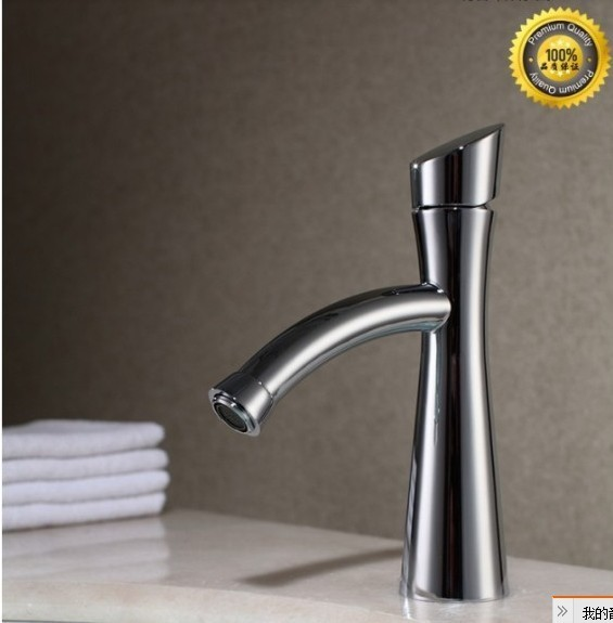 Free shipping 2013creative hottest novelty Kitchen sink Faucet basin dancing Faucet tap total brass chrome plating
