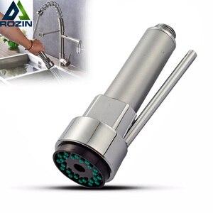 Image 1 - Tête bec de cuisine à retrait, tête de remplacement, vaporisateur évier, vaporisateur, tête bec de cuisine, Chrome
