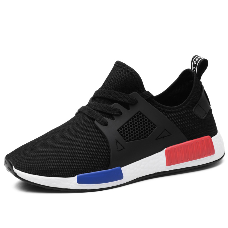 Men Sneakers Women Rubber Black Running Shoes for Women Breathable Mesh Sport Men Shoes Male Female Sneakers 39
