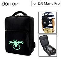 DOITOP For DJI Mavic Pro Backpack Bag Storage Case Waterproof Anti Shock Outdoor Carry Shoulder Bag