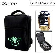 Doitop для dji Мавик pro рюкзак сумка для хранения Водонепроницаемый анти-шок Открытый Сумка через плечо для Mavic Pro и Интимные аксессуары