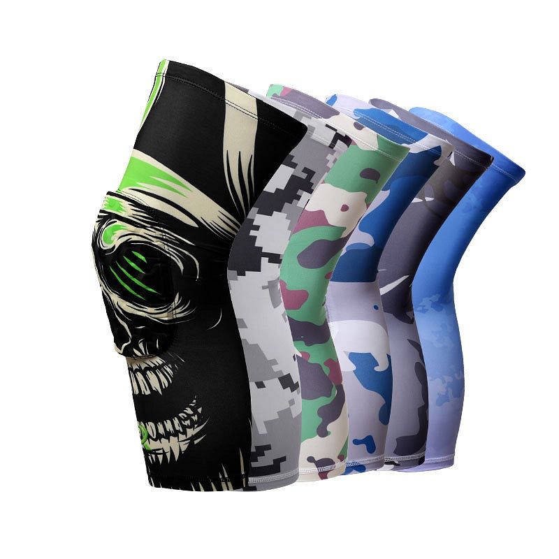 Compression Socks Knee Wraps Brace Protection Knee Pad Honeycomb Sports Safety Tapes volleyball Basketball K5