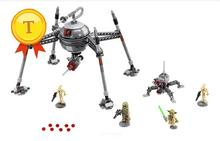 Space star wars Homing spider droids building block Army clone trooper Yoda minifigures compatible with legoes 75142 for kids