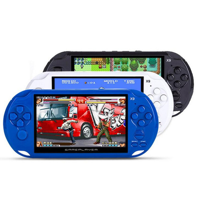 Online shop 5 inch portable handheld game console for gba nes.
