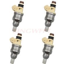 4 Stks/partij Brandstof Injector Nozzle Fuel Systemen Voor Mitsubishi Montero Eclipse Galant B210H INP051 INP 051 MD141263