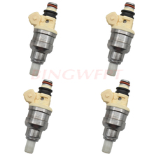 4pcs/lot Fuel Injector Nozzle Fuel Systems for MITSUBISHI Montero Eclipse Galant B210H INP051 INP 051 MD141263