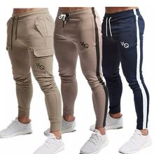 linfengxiangzi Drop Shipping Cotton Men Cargo Pants Multi-pockets Baggy Military