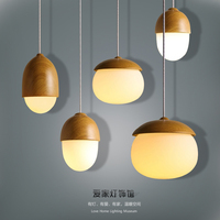 modern personality fashion lamp study dining room bar bedside bedroom nut lamp single head painted pendant lamp MZ8