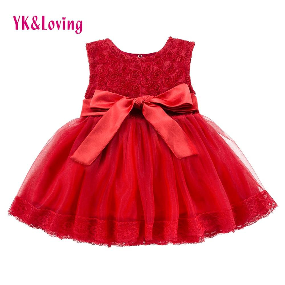 Lány keresztség ruha csipke baba hercegnő ruhák gyerekek - Gyermekruházat