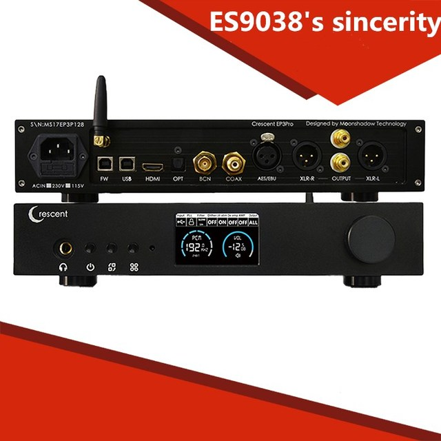 R-070 ES9038Pro DAC HiFi DSD XMOS amplifier decoding machine Bluetooth full balanced decoder