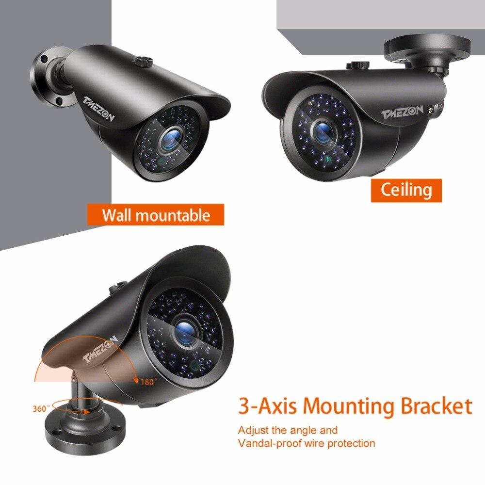 güvenlik IR Çözünürlüklü kamerası