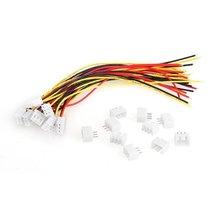 Imc Горячие 10 пар 150 мм 2S1P Провода кабель + Баланс Зарядное устройство Разъем для RC Батарея