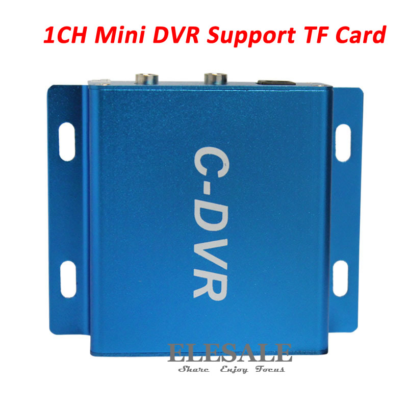 New 1CH Mini TF Card DVR Audio/Video Record CCTV Security Camera Recorder Motion Detection D1 Car DVR Support Max 32G 1 ch mini sd card cctv dvr recorder support audio record loop recording