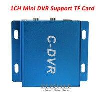 Nowy KANAŁ Mini TF Karty REJESTRATORA Audio/Video Record Detekcja ruchu D1 Rejestrator CCTV Zabezpieczeń Aparatu Samochód DVR Wsparcie Max 32G