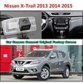 Para Nissan X-trail 2013 2014 2015 Cámara Del Coche Conectado Original Monitor de Pantalla y Cámara de Reserva Retrovisor del coche Original pantalla