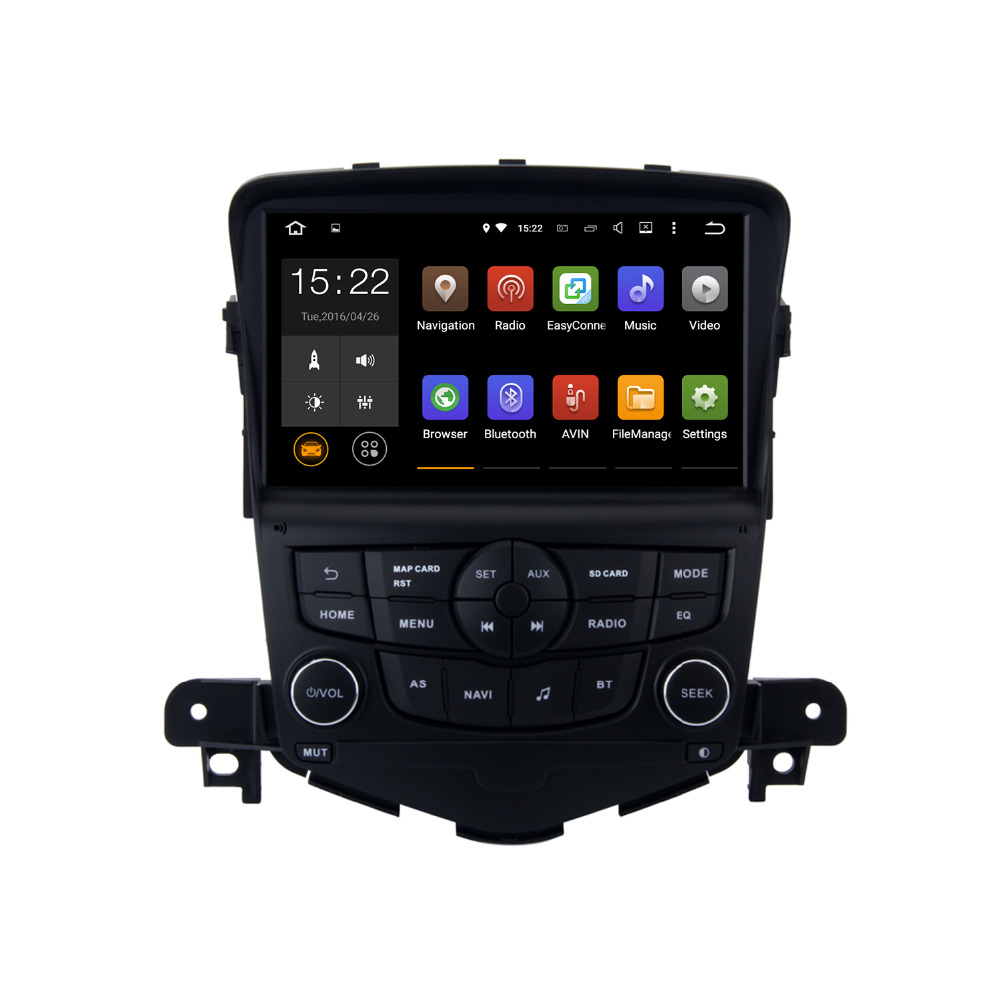 Android 5.1.1 Car Radio player for Chevrolet Cruze 2008-2011with mirror link navi browser radio Head unit Quad Cord