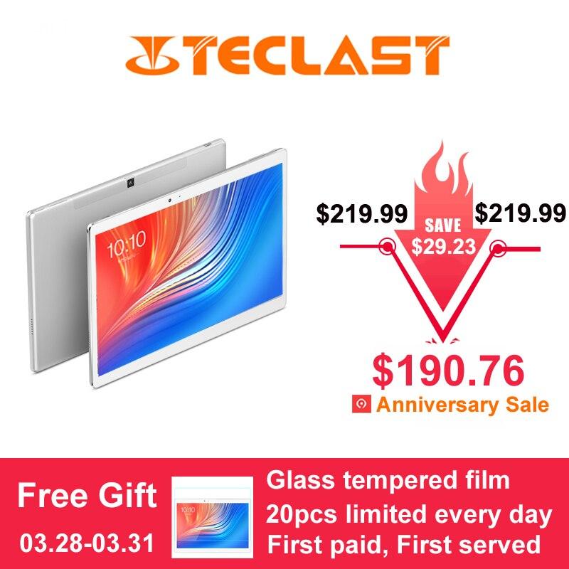 10.1 pouces 2560*1600 Teclast T20 Tablet PC 4G appel Téléphonique MT6797 Helio X27 Deca Core Android 7.0 4 GB RAM 64 GB ROM 8100 mah 13MP