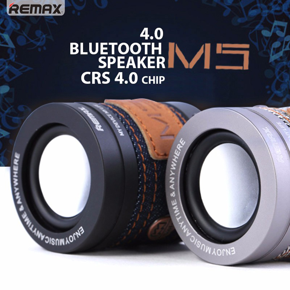 Remax Rm M5 Cowboy 40 Nfc Audio Portable Mini Wireless Bluetooth Speaker Type Rb M23 Series Grey For Iphone Samsung Caixa De Som In Speakers From Consumer