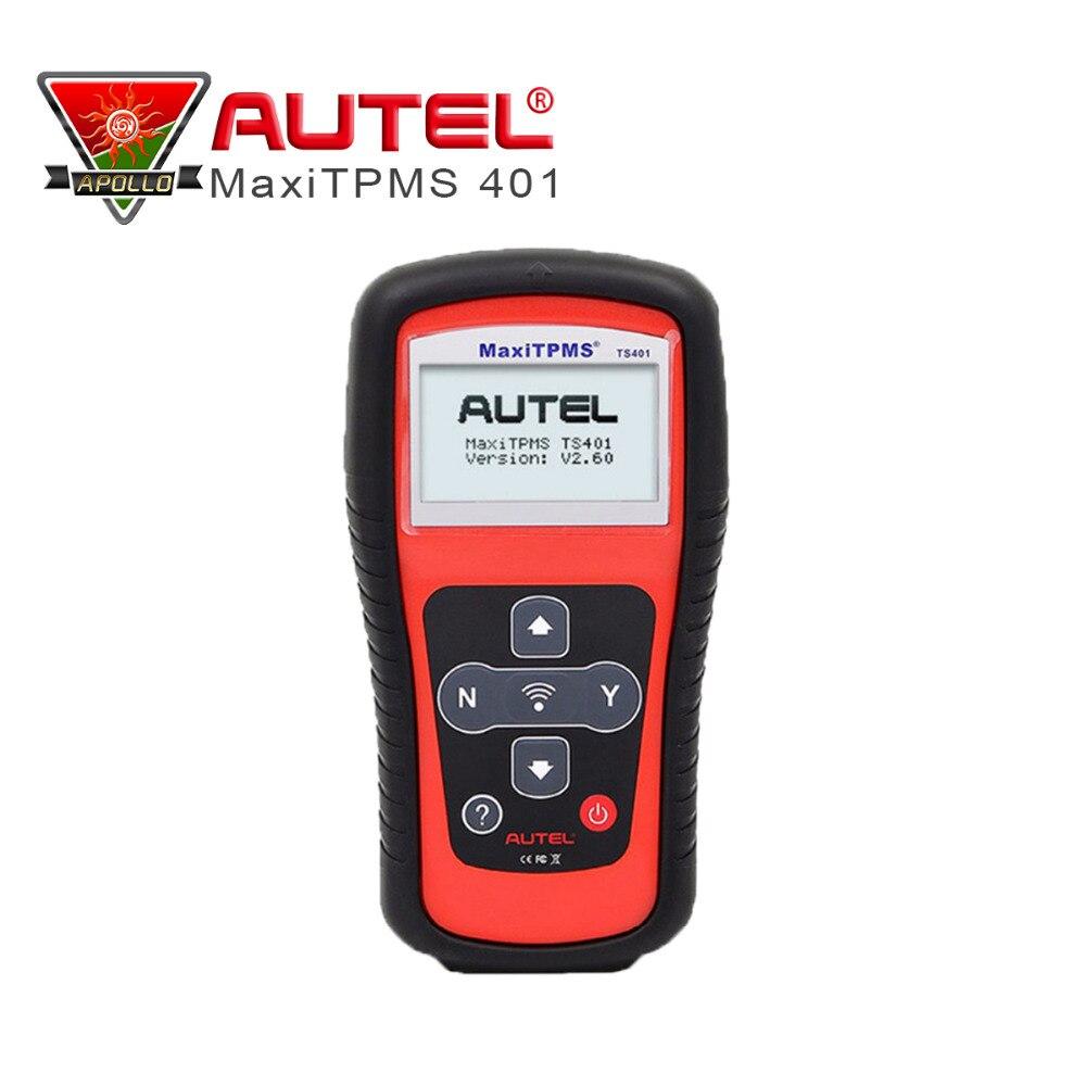 Prix pour Professionnel TPMS de diagnostic et service tool Autel MaxiTPMS TS401 Set & Pression Correcte Des Pneus Moniteur Système capteur couverture