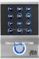 Веб IP65 водонепроницаемый 13.56 мГц EM (IC) RFID карты и pin контроля доступа клавиатуры