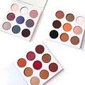 2016 royal peach Holiday Edición Maestro de Bronce Burdeos de Sombra de Ojos Paleta de Sombra de ojos 9 Colores Paleta de Maquillaje Cosmestics
