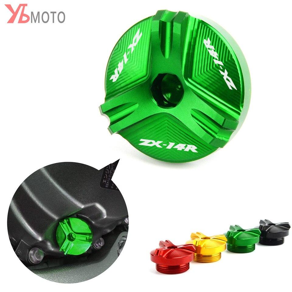 Oil Filler Cap Plug Fits Kawasaki Ninja 250R 300 500 ZX6R ZX10R 14R Z1000 KLR650
