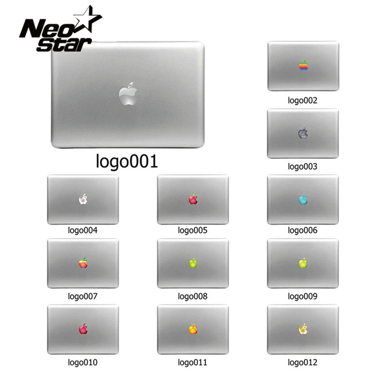 Colorful Laptop Sticker Decal Skins for Macbook 11 13 15 17 inch sticker for mac book Rainbow logo Free Shipping New Arrival colorful laptop sticker decal skins for macbook 11 13 15 17 inch sticker for mac book rainbow logo free shipping new arrival