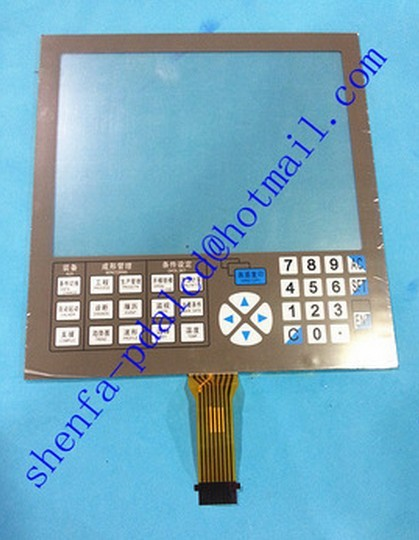 injection molding machine for touch screen touch panel for NISSEI NC9300T NC93T FOR touch pad.shenfa touch screen for plcs 10 injection molding machine repair have in stock