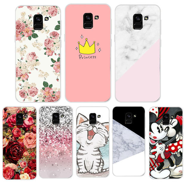 cheaper f7295 4f38b US $0.84 10% OFF|Aliexpress.com : Buy For Samsung Galaxy A8 2018 Case TPU  Soft Silicone Cover For Samsung Galaxy A8 Plus 2018 A3 A5 J5 2017 A5 J5  2016 ...