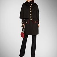 Пальто для будущих мам длинное однотонное кашемир продажа зимнее пальто Европе и большой Новый стиль Осенняя модная накидка высокая конец
