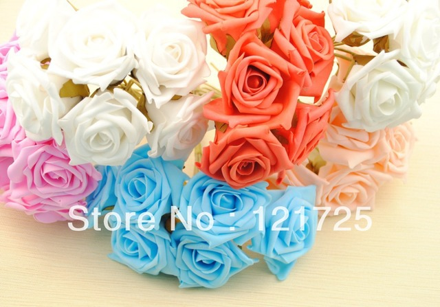 6 colors foam flowers hand made home decoration crafts flowers mini 6 colors foam flowers hand made home decoration crafts flowers mini artificial flowers small wedding bouquet mightylinksfo