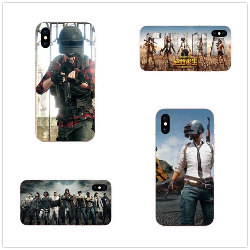 A jedi survival shooting game for iPhone 8 7 6 6s 5s plus X Hard silicone