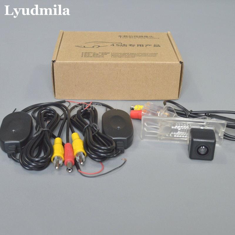 Cámara inalámbrica Lyudmila para Renault Duster / Dacia Duster / Vista trasera de la cámara de marcha atrás / Visión nocturna HD / Instalación fácil
