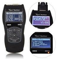 Vgate Scantool VS890 Multi Language Car Code Reader Auto Automobile Vehicle Diagnostic Scanner Hot Sale Free
