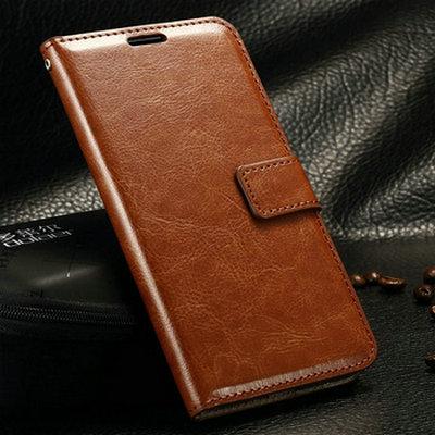 Retro Leather Case For Samsung...