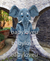 Adult Mascotte Elephant Mascot Costumer Elephant Mascot Costume Elephant Mascot Clothes Free Shipping