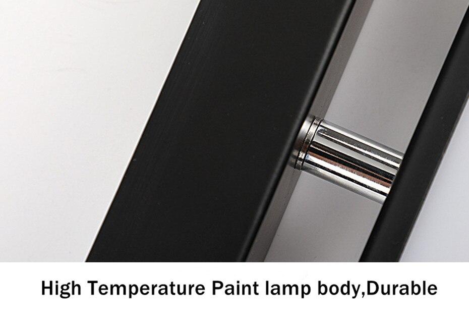 Nórdico moderno lâmpada de parede led alumínio