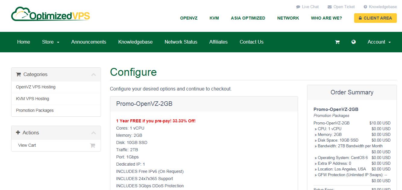 羊毛党之家 OptimizedVPS:$10/年/2GB内存/10GB SSD空间/2TB流量/OpenVZ/洛杉矶/无限换IP  https://yangmaodang.org