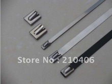 stainless steel cable tie  4.6mm*500mm,used in shipping