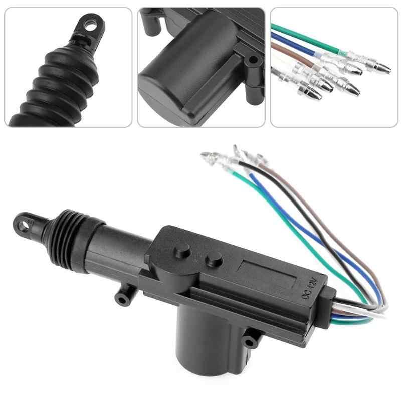 ユニバーサル 12 V/24 V 2 線式/5 線式車集中ロックシステム電磁アクチュエータドアモーター